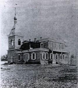 Дача с домовой церковью во имя Иверской иконы Божией Матери
