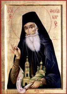 Преподобный Феодор Санаксарский (в миру дворянин Иван Игнатьевич Ушаков)