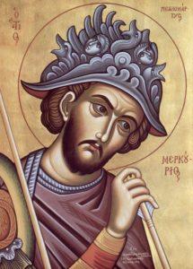 Великомученик Меркурий Кесарийский (Каппадокийский), военачальник