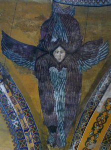 Серафим. Изображение в Соборе Святой Софии, Стамбул